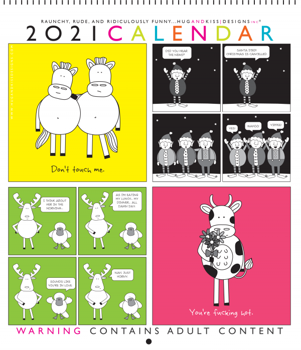 Funny Calendar Front Cover